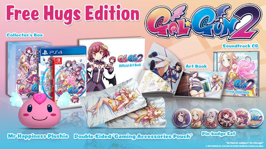 Gal*Gun 2 Free Hugs Edition