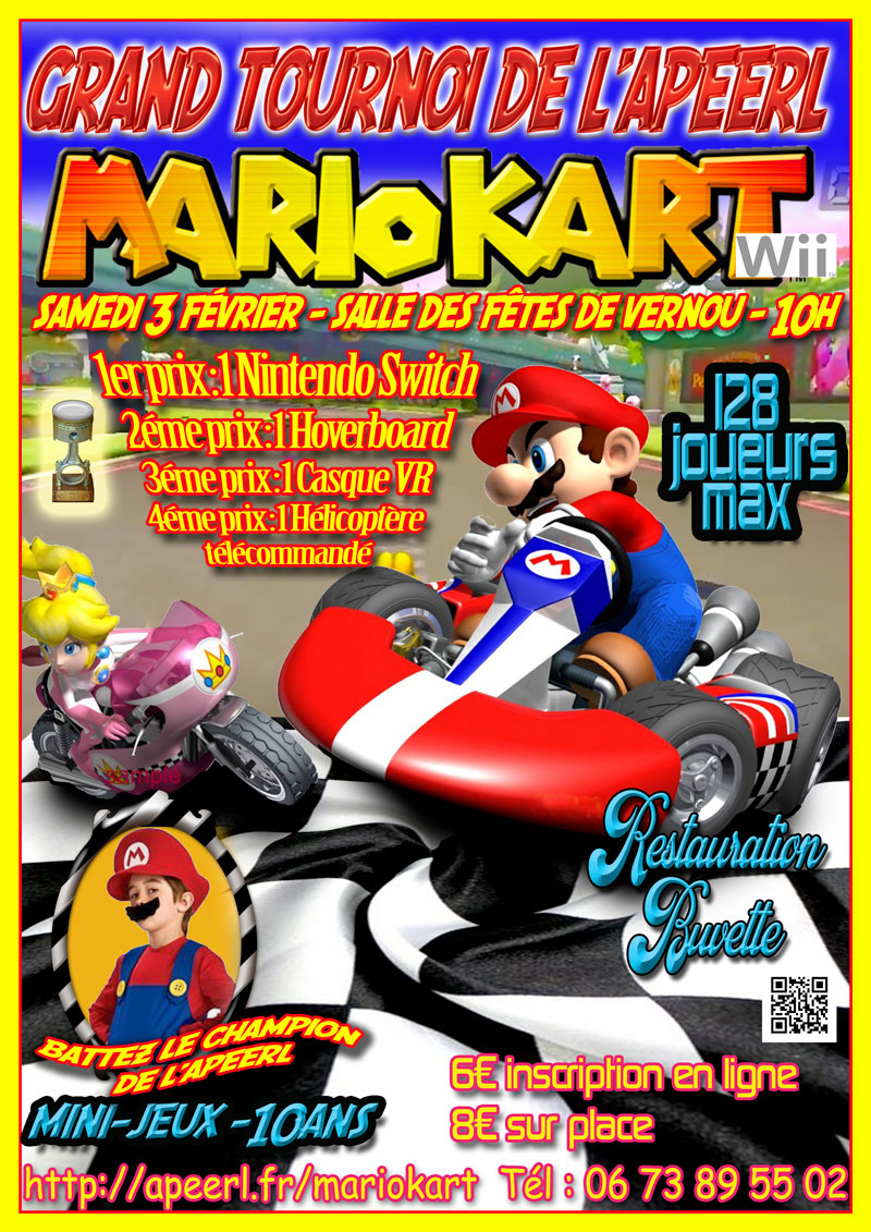 Tournoi Mario Kart Wii le 3 février 2018 à Vernou-sur-brenne (37)