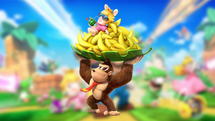 Mario + The Lapins Crétins Kingdom Battle - Donkey Kong