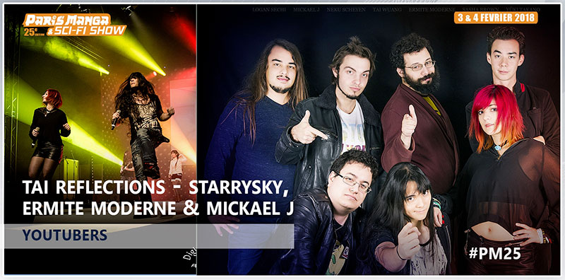 PM25 - Invites Youtubers TAI REFLECTIONS STARRYSKY feat. Ermite Moderne & Mickael J