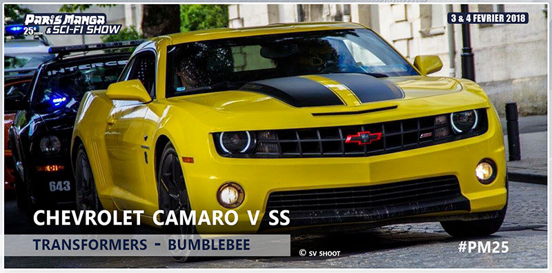 PM25 - Voitures CHEVROLET CAMARO V SS TRANSFORMERS