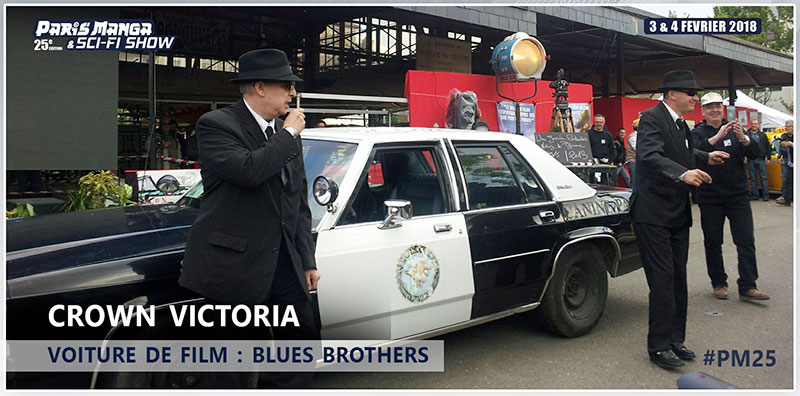 PM25 - Voitures CROWN VICTORIA BLUES BROTHERS