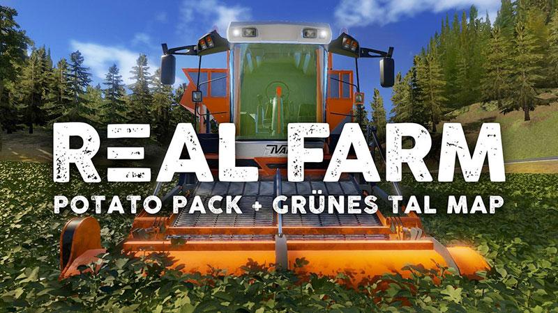 Real Farm - Pack Pommes de terre & Carte Grünes Tal