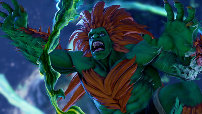 Street Fighter V Arcade Edition Blanka