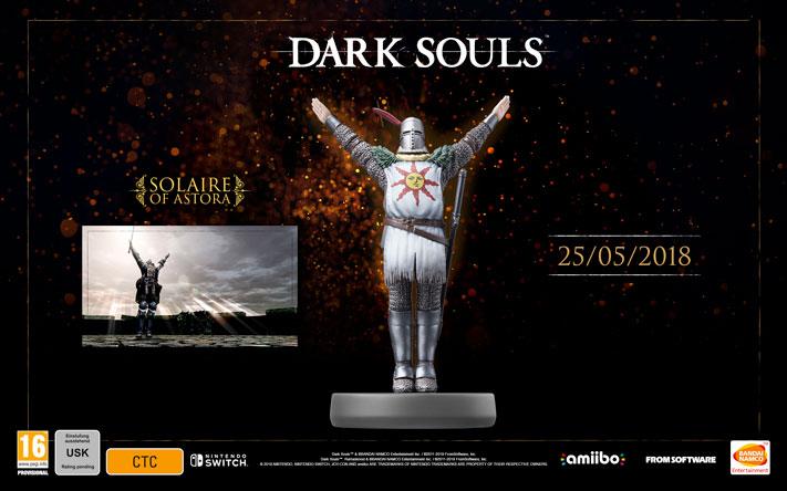 Dark Souls Remastered Amiibo