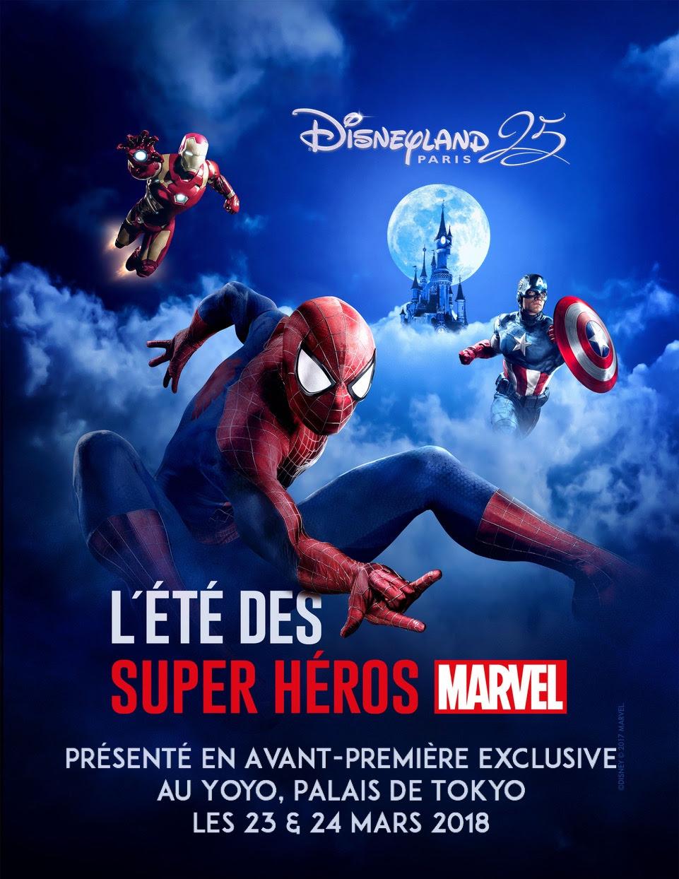 L'Eté des Super Héros Marvel en avant-première exclusive au Yoyo