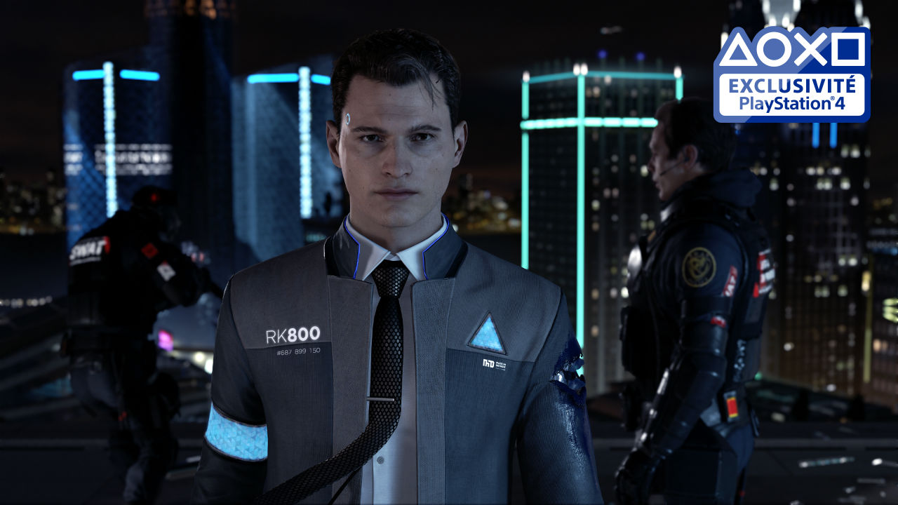 Detroit Become Human - Connor
