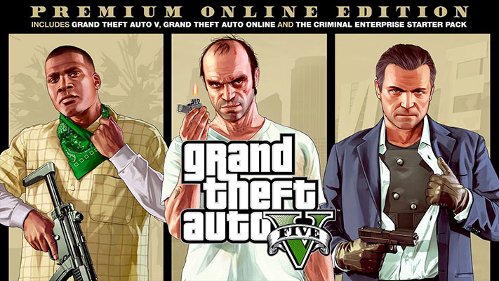 Grand Theft Auto V Édition Premium Online