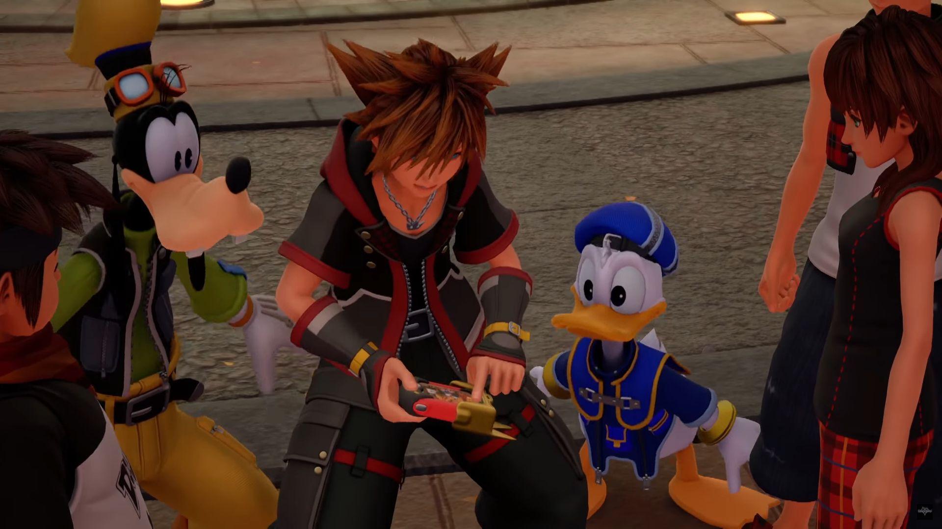 Kingdom Hearts III Classic Kingdom