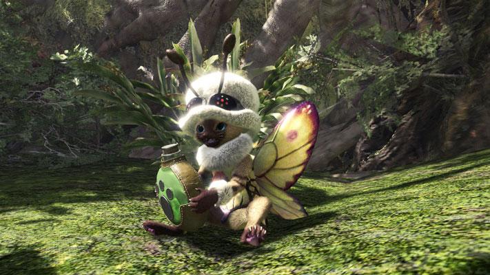 Monster Hunter: World festival printemps