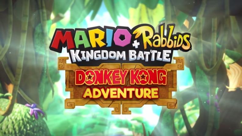 Mario + The Lapins Crétins Kingdom Battle Donkey Kong Adventure