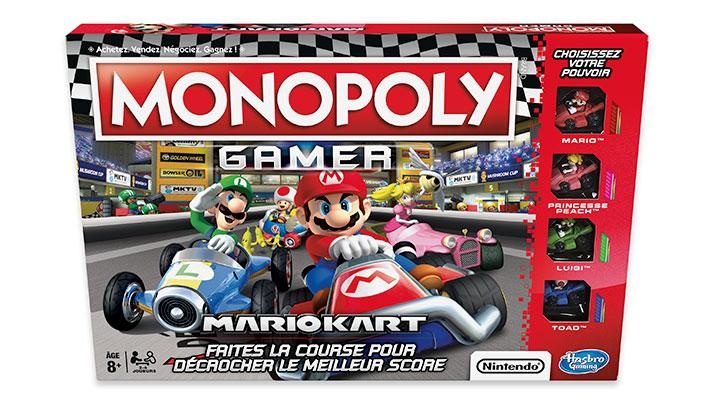le monopoly gamer mario kart est d sormais disponible. Black Bedroom Furniture Sets. Home Design Ideas