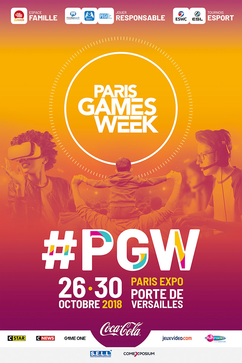 Paris Games Week 2018 Affiche