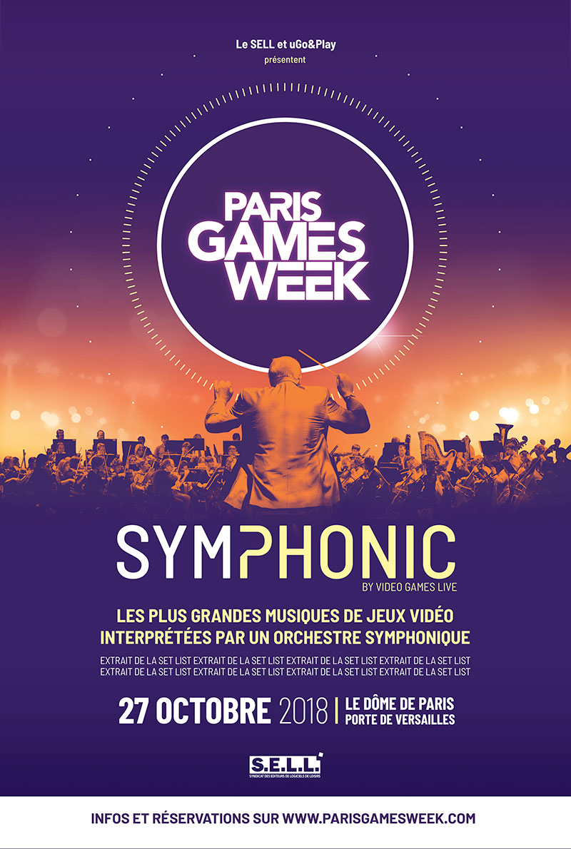 Paris Games Week Symphonic 2018