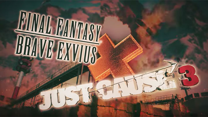 Final fantasy Brave Exvius X Just Cause 3