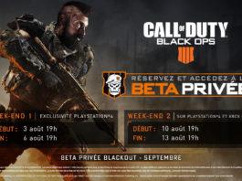 Call of Duty : Black Ops 4 Beta Privée