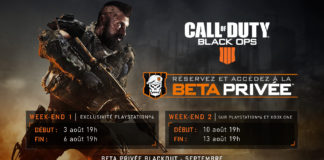 Call of Duty : Black Ops 4 Beta Privée