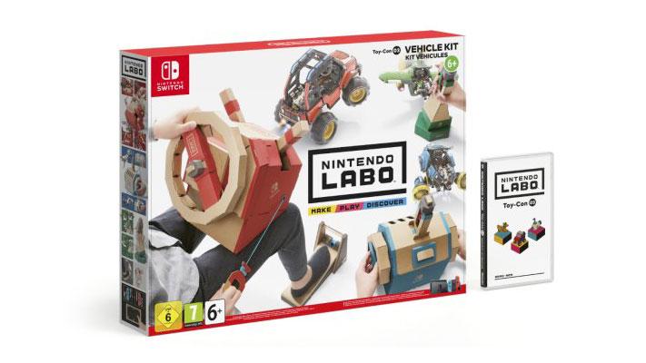 Nintendo Labo 003 kit véhicules