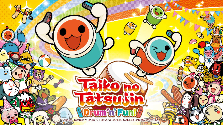 Taiko no Tatsujin: Drum'n'Fun! Switch