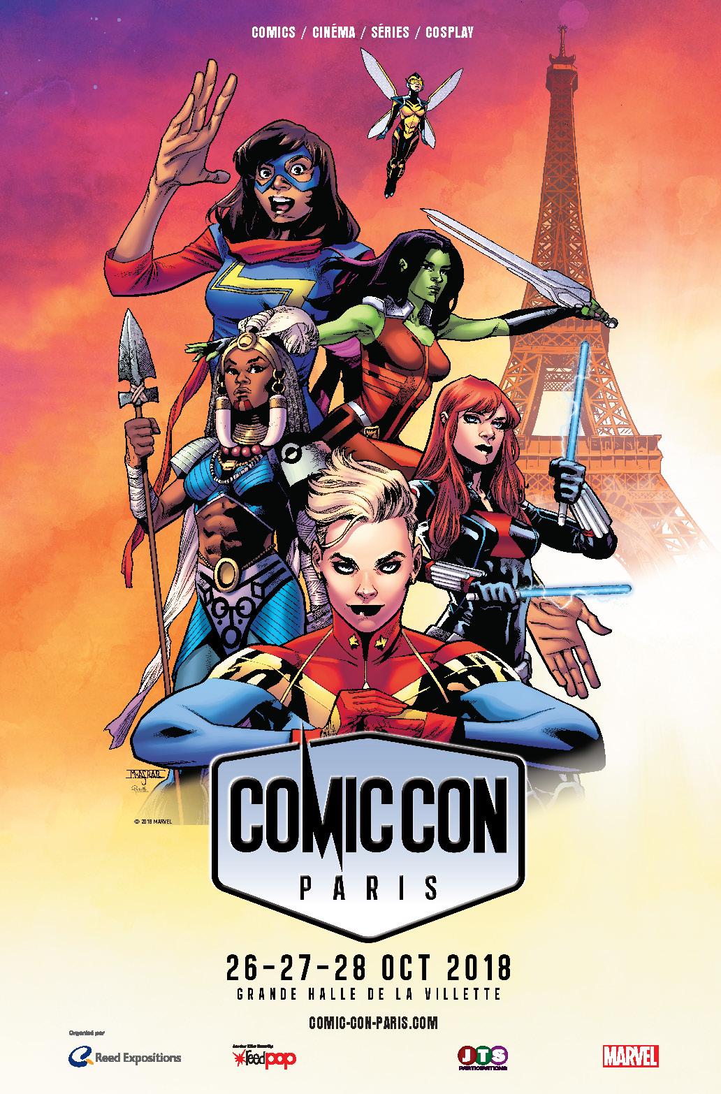 Comic Con Paris 2018 affiche