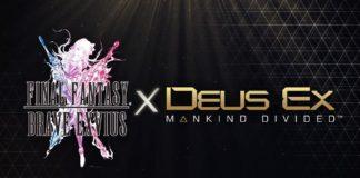 Final Fantasy Brave Exvius Deus Ex Mankind Divided