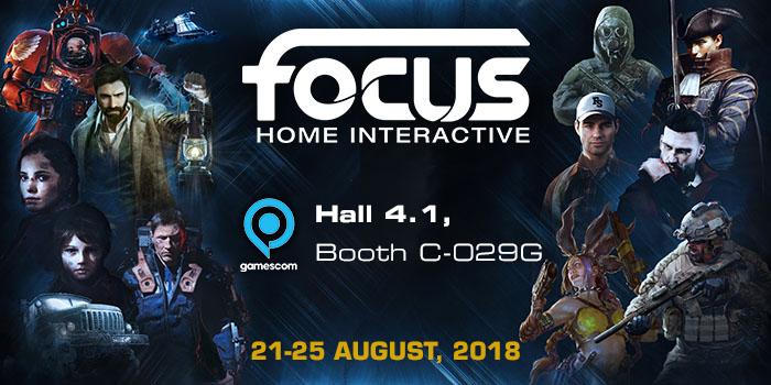 Focus Home Interactive Gamescom 2018