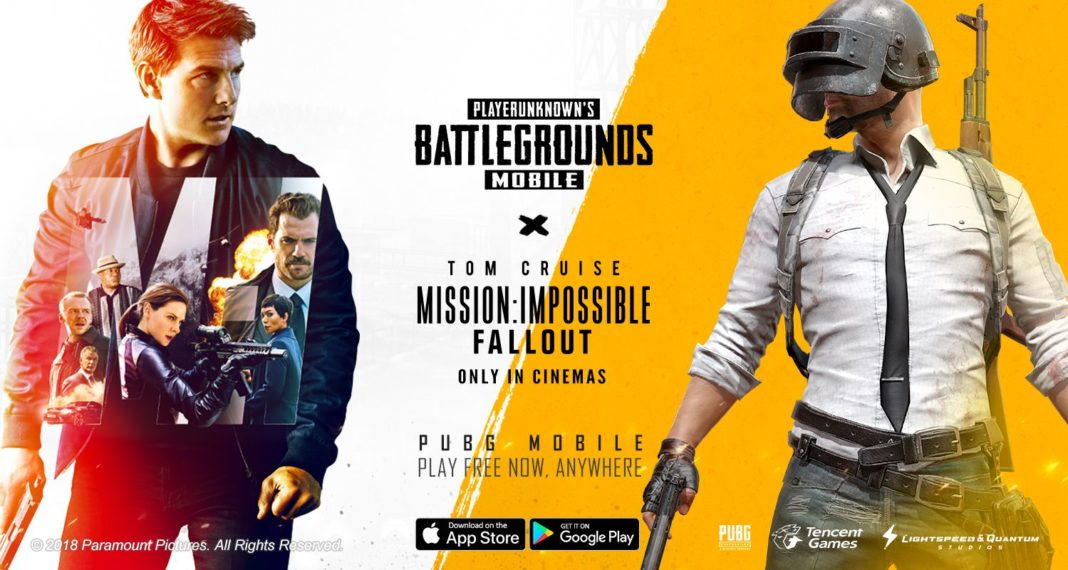 PUBG MOBILE Mission Impossible Fallout