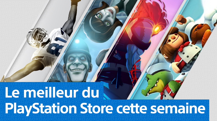 Mise à jour PlayStation Store 6 août 2018