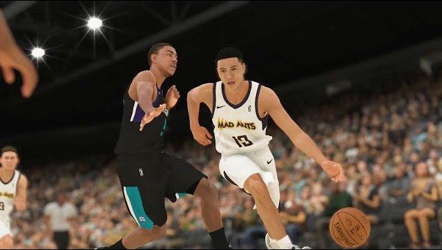 NBA 2K19 MaCARRIÈRE