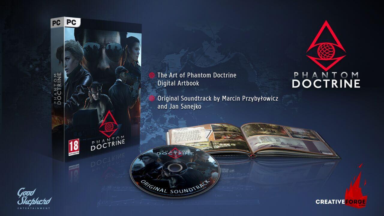 Phantom Doctrine Artbook Soundtrack