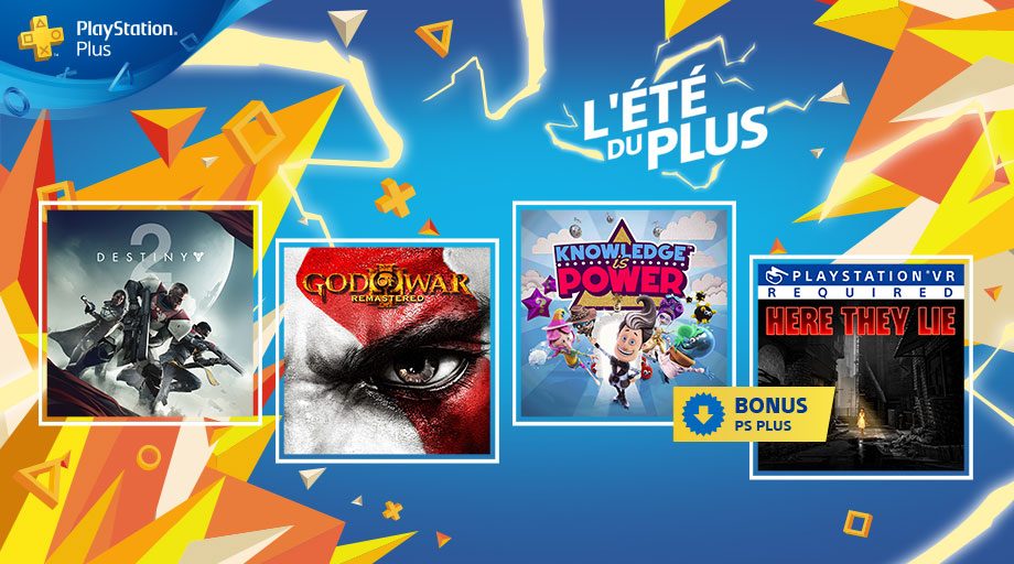 PlayStation Plus - Septembre 2018