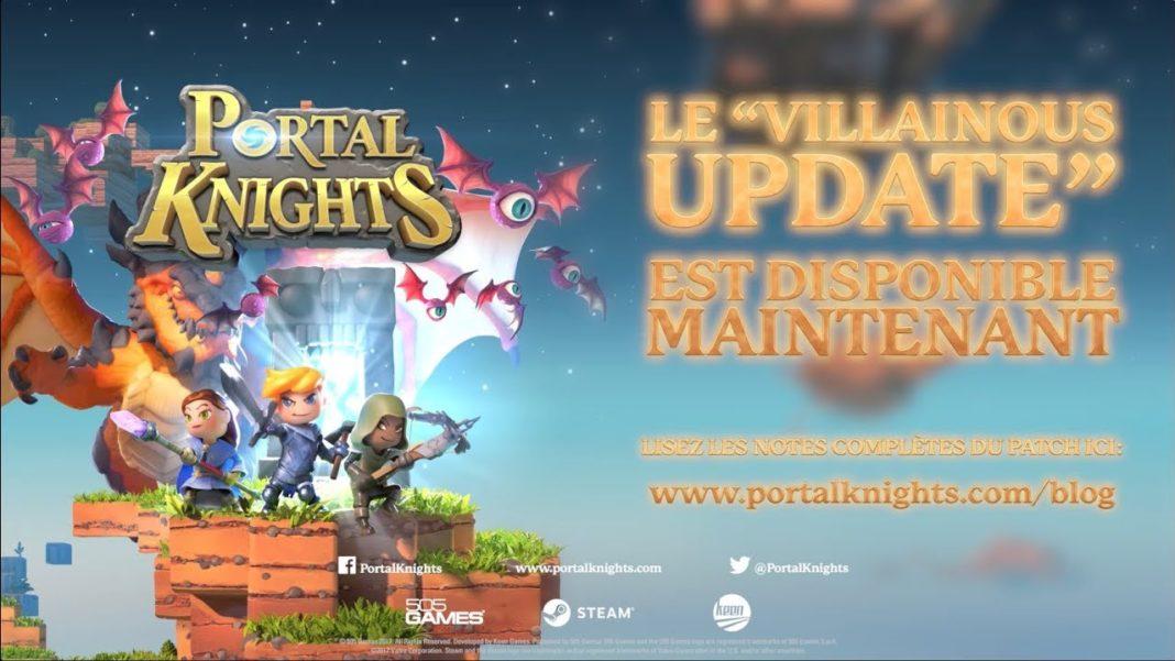 Portal Knights Villainous Update