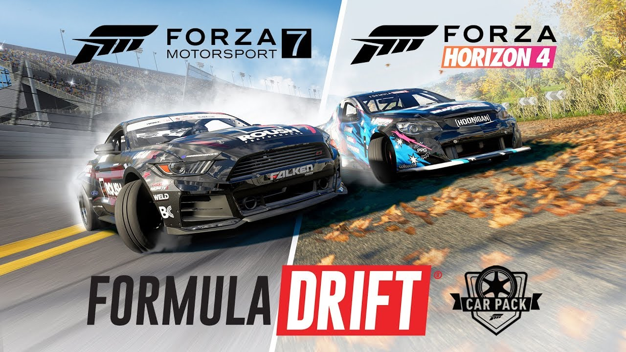 un formula drift car pack pour forza horizon 4 et forza motorsport 7. Black Bedroom Furniture Sets. Home Design Ideas