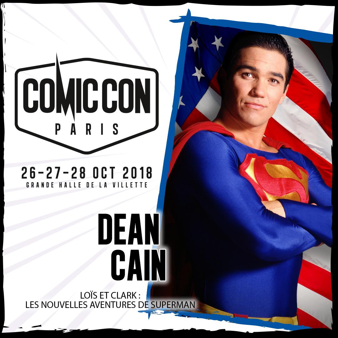 Dean Cain Comic Con Paris 2018