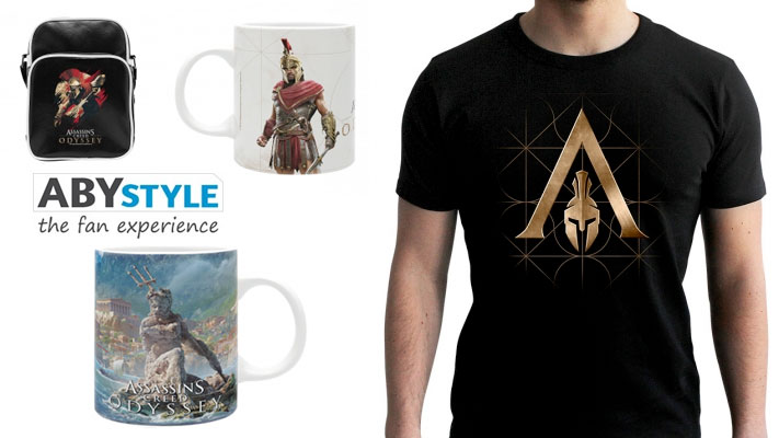 Assassin's Creed Odyssey ABYstyle cover