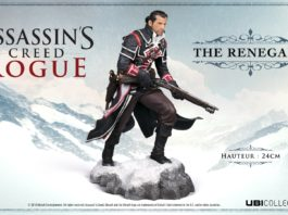 Assassin's Creed Rogue mock Ubicollectibles Figurine Shay