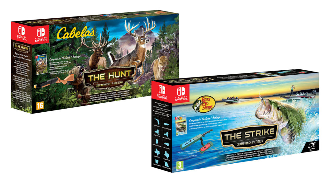 Cabela's The Hunt et Bass Pro Shops The Strike: Championship Editions