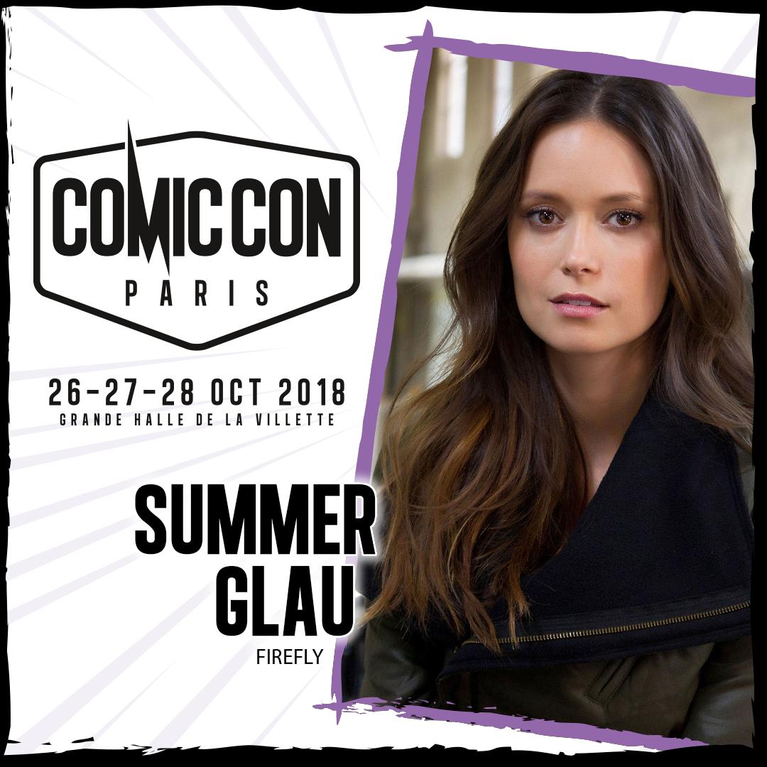 Comic Con Paris 2018 Summer Glau