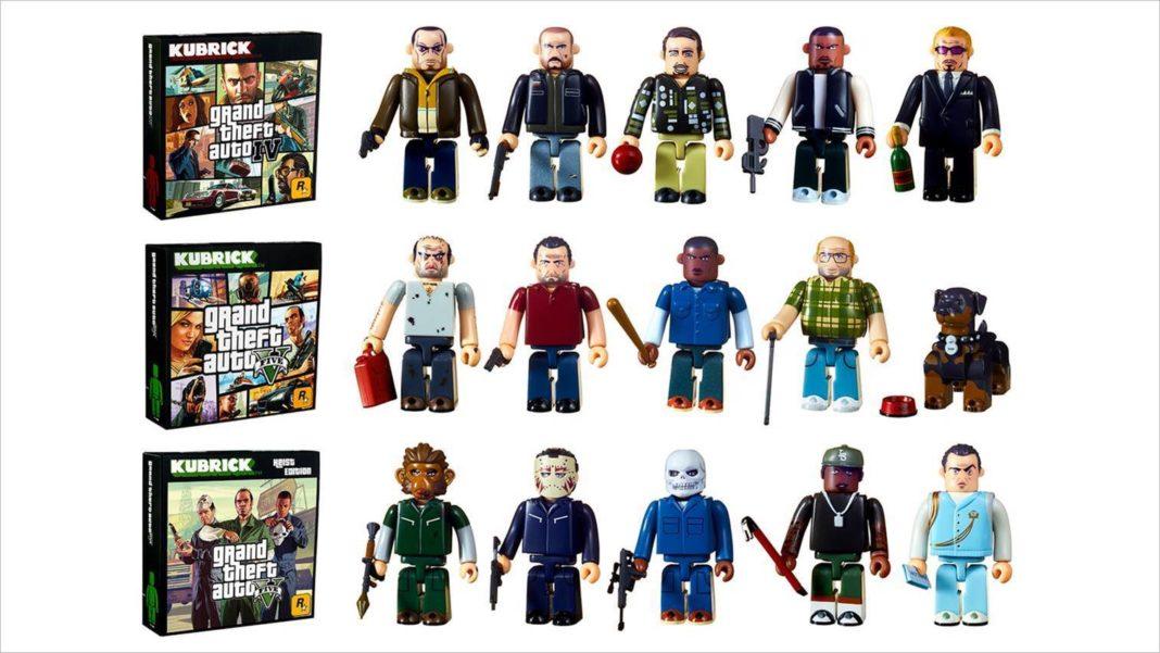 Figurines Kubrick Grand Theft Auto