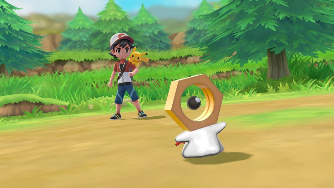 Mythical Pokémon Meltan_in_Pokemon_Let_s_Go
