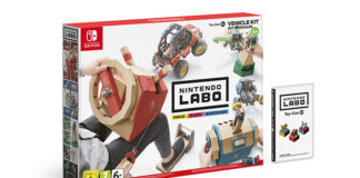 Nintendo Labo Toy-Con 03 : Kit Véhicules