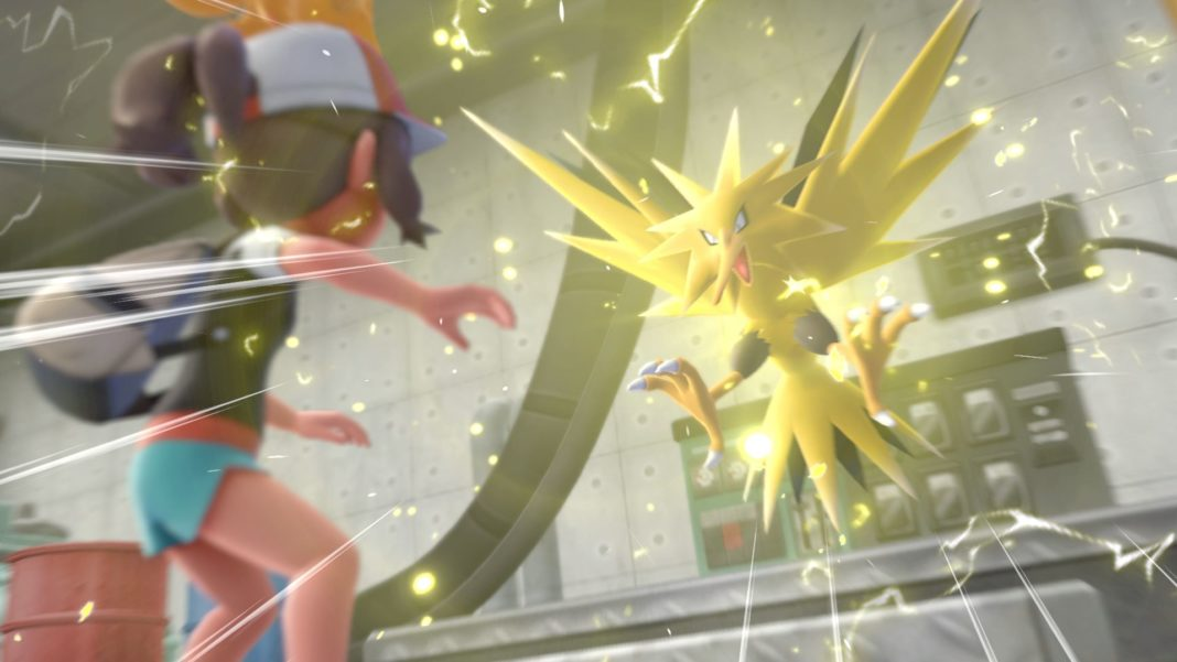 Pokémon Let's Go Pikachu et Évoli - Zapdos_Electhor