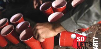 Sobieski Vodka So, let's cup party