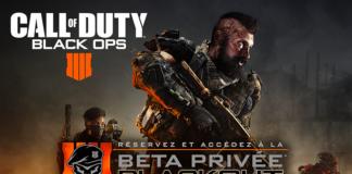 Call of Duty: Black Ops 4 - Beta Privée Battle Royale Blackout