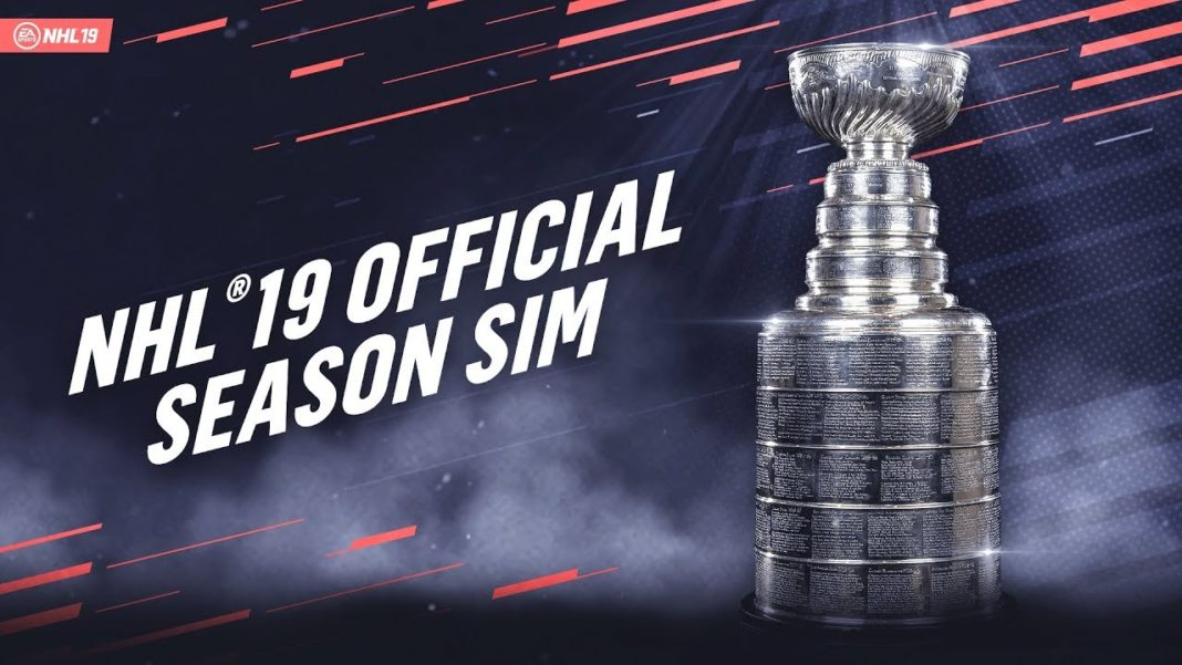 EA Sports NHL 19 Saison SIM