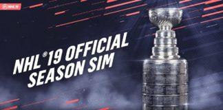 EA Sports NHL 19 Saison SIM