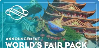Planet Coaster pack World's Fair