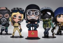 Rainbow Six chibi Ubicollectibles