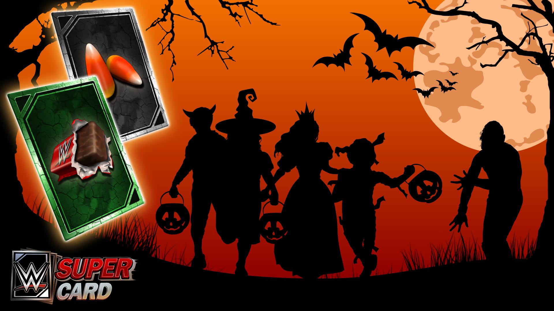 Wwe Supercard Du Contenu Exclusif Pour Halloween