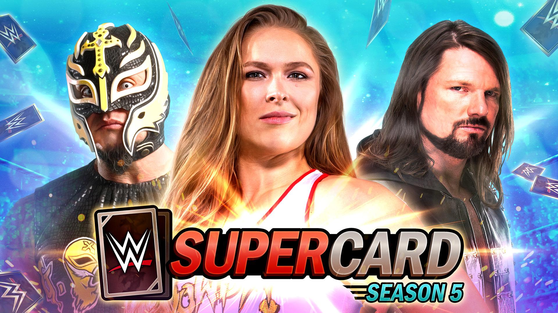 Wwe Supercard La Saison 5 Est Disponible
